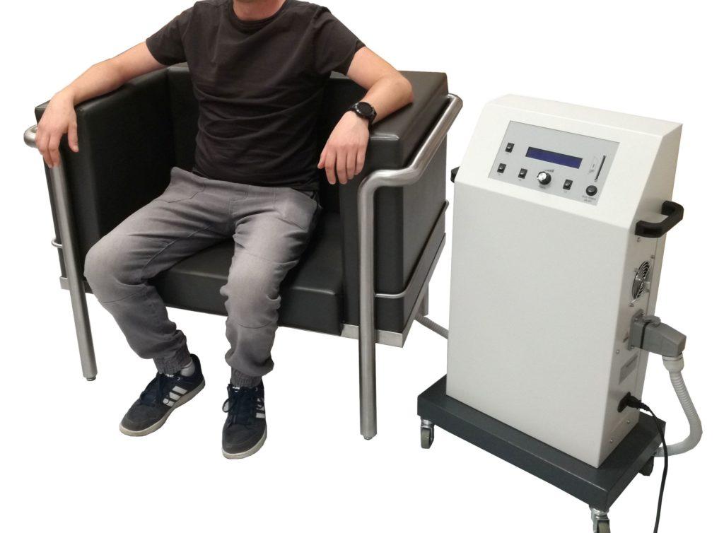 Fotel do leczenia nietrzymania moczu